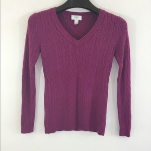 LOFT Women's Petite Knit Sweater
